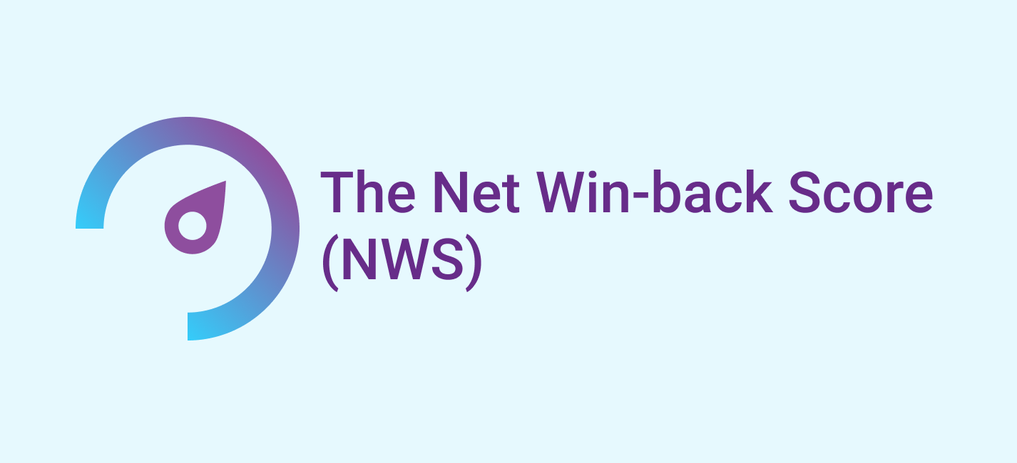 Introducing the Net Win-back Score (NWS)